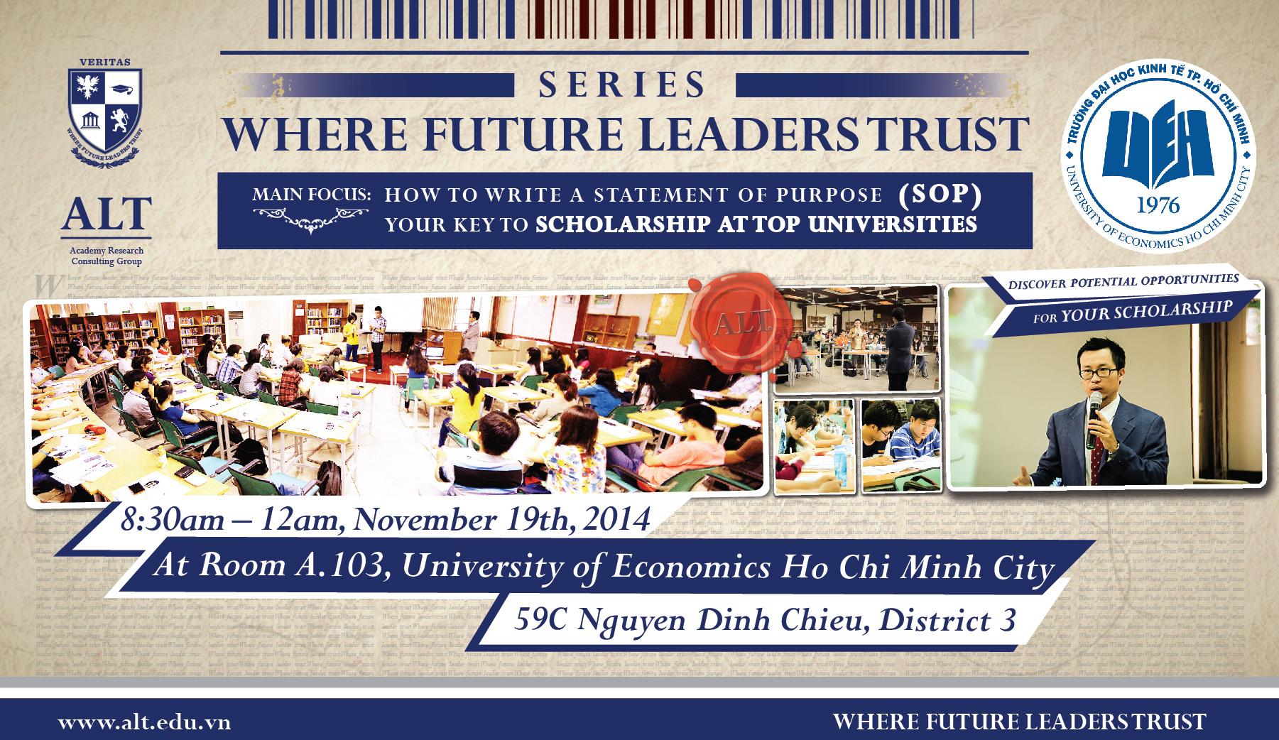 Hội thảo ALT: Hướng dẫn viết luận nâng cao tại trường đại học Kinh Tế TP HCM