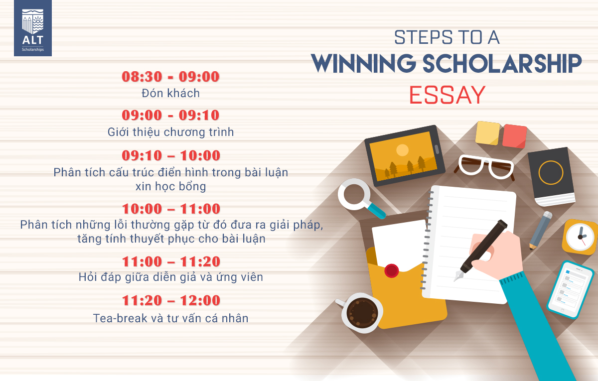 "Hội thảo ALT ""Steps To A Winning Scholarship Essay"""