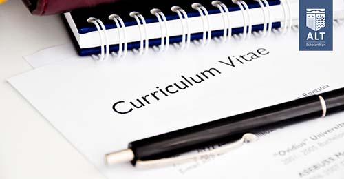 Trình bày CV ngắn gọn, súc tích, nội dung liên quan đến ngành theo học