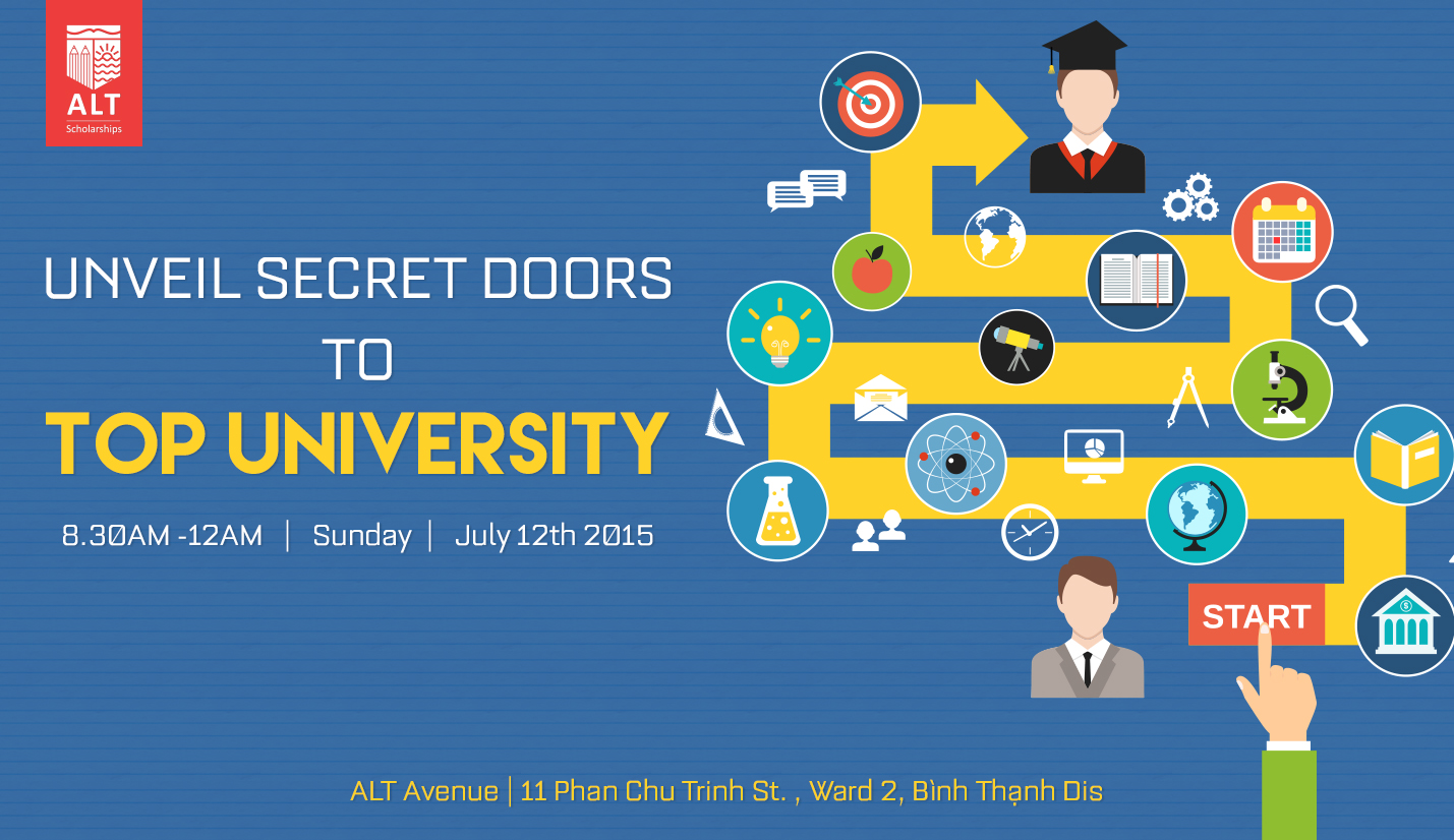 "Hội thảo ALT ""Unveil Secret Doors To Top University"""