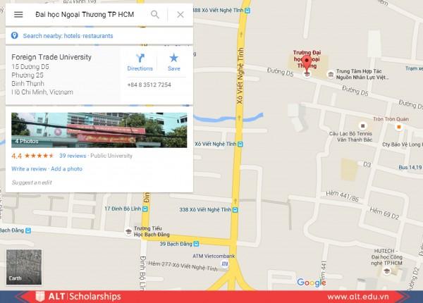 Hội Thảo ALT tại trường đại học Ngoại Thương TP HCM