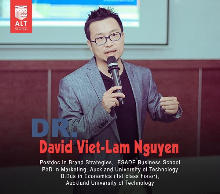 Diễn giả: Tiến Sĩ David Nguyễn Việt Lâm tại buổi hội thảo ALT - RMIT