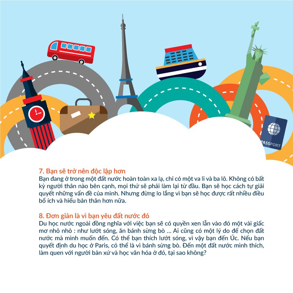 Những lợi ích khi đi du học nước ngoài