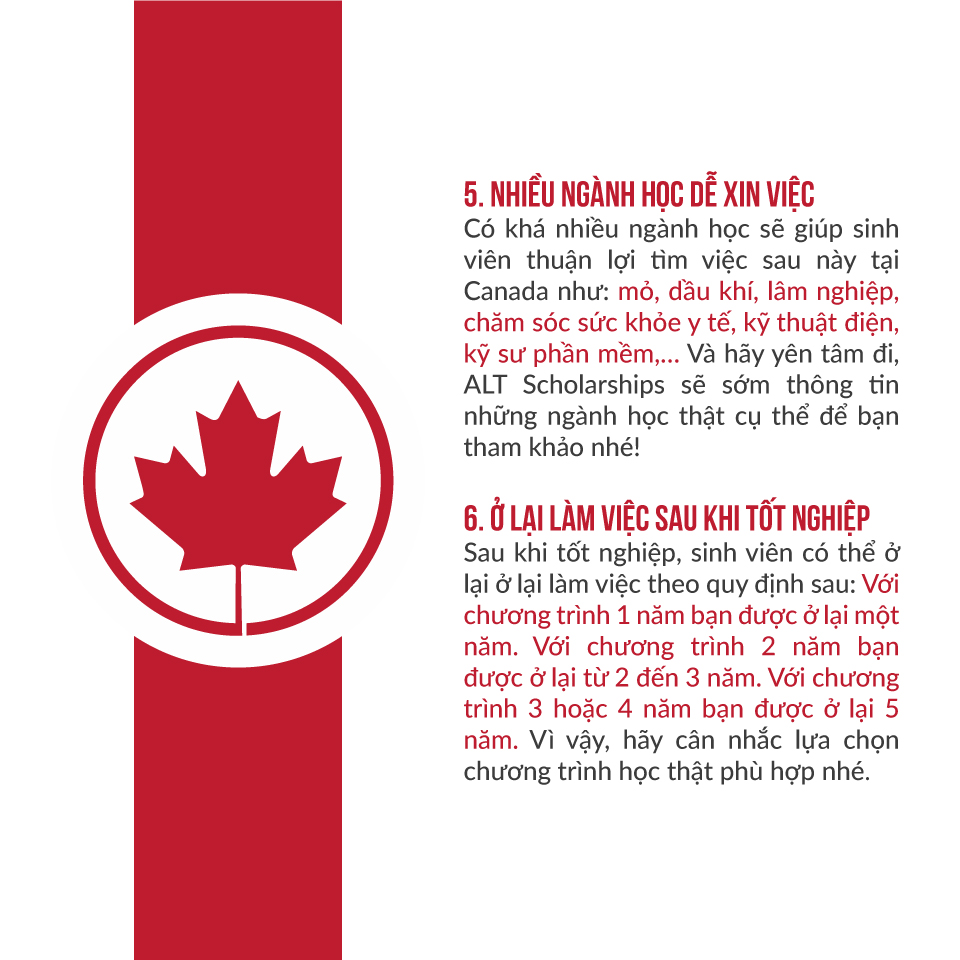 Tại Sao nên đi du học canada
