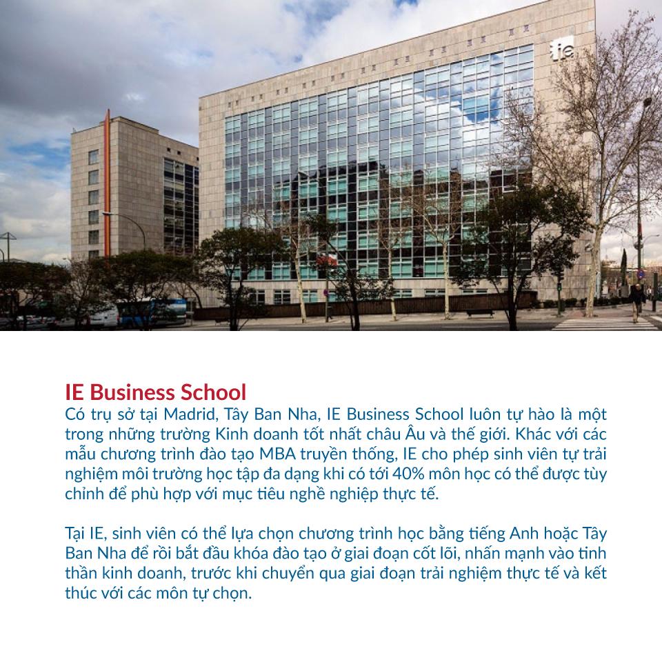 các trường kinh doanh tốt nhất