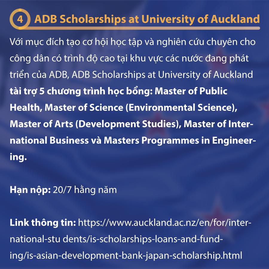 Học Bổng Du Học New Zealand Tiết Kiệm