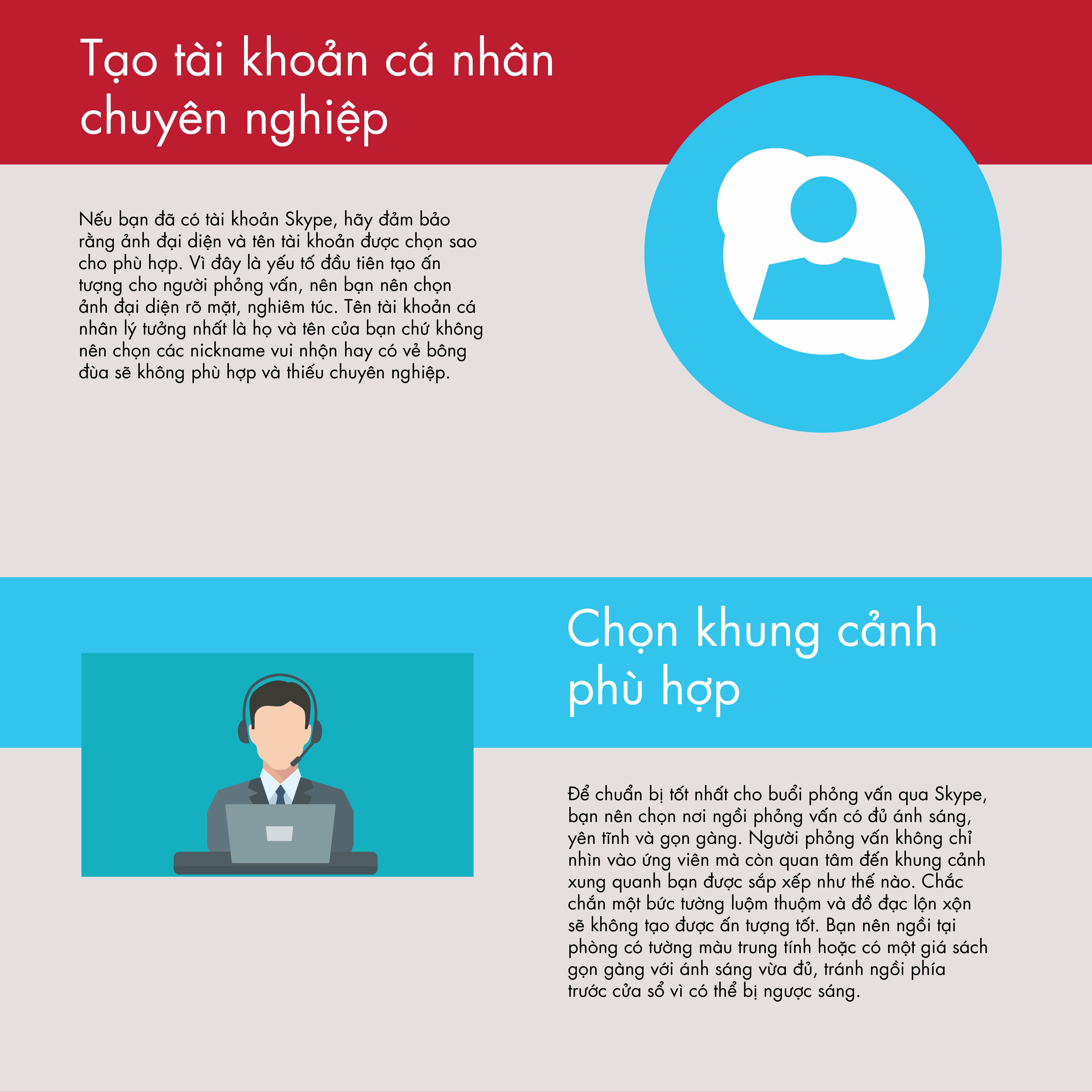 7 Bí Quyết Phỏng Vấn Qua Skype