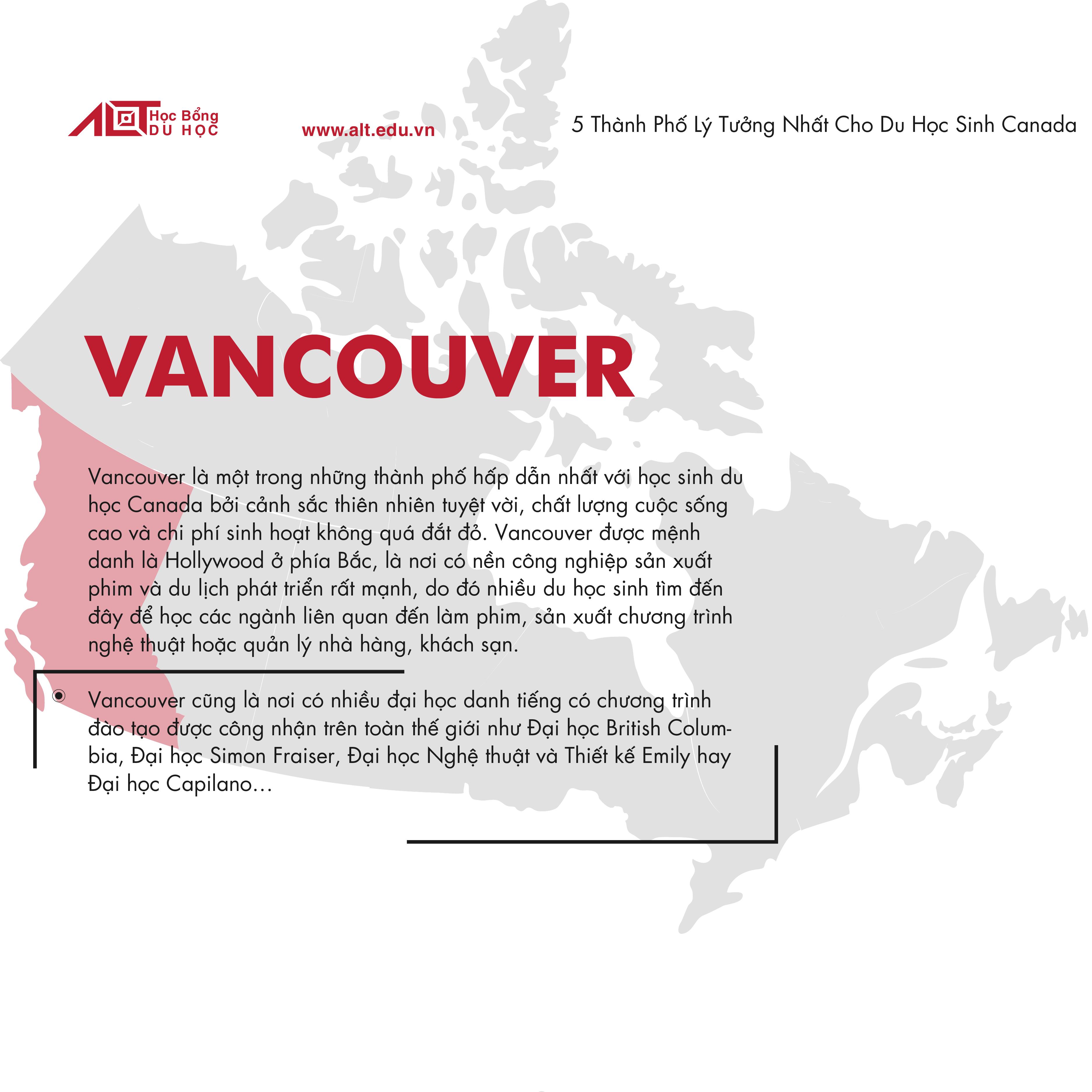 5 thành phố lý tưởng ở Canada