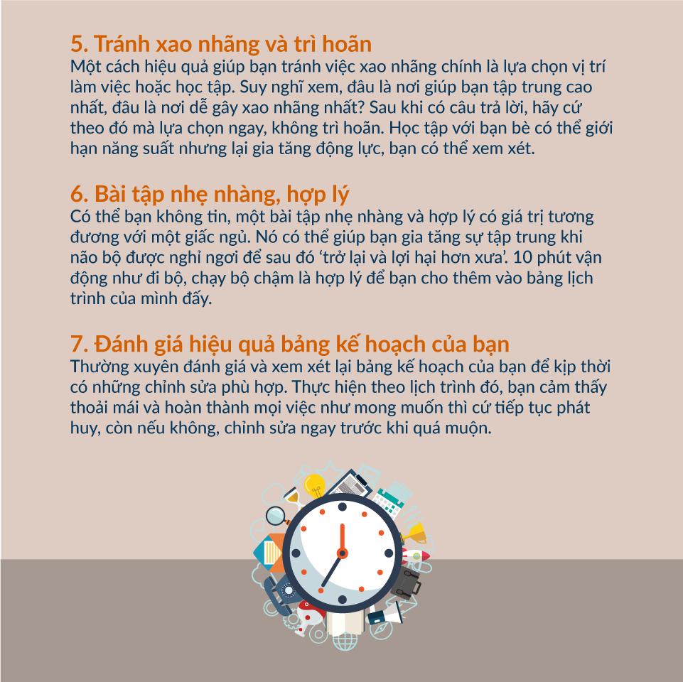 phương pháp quản lý thời gian hiệu quả