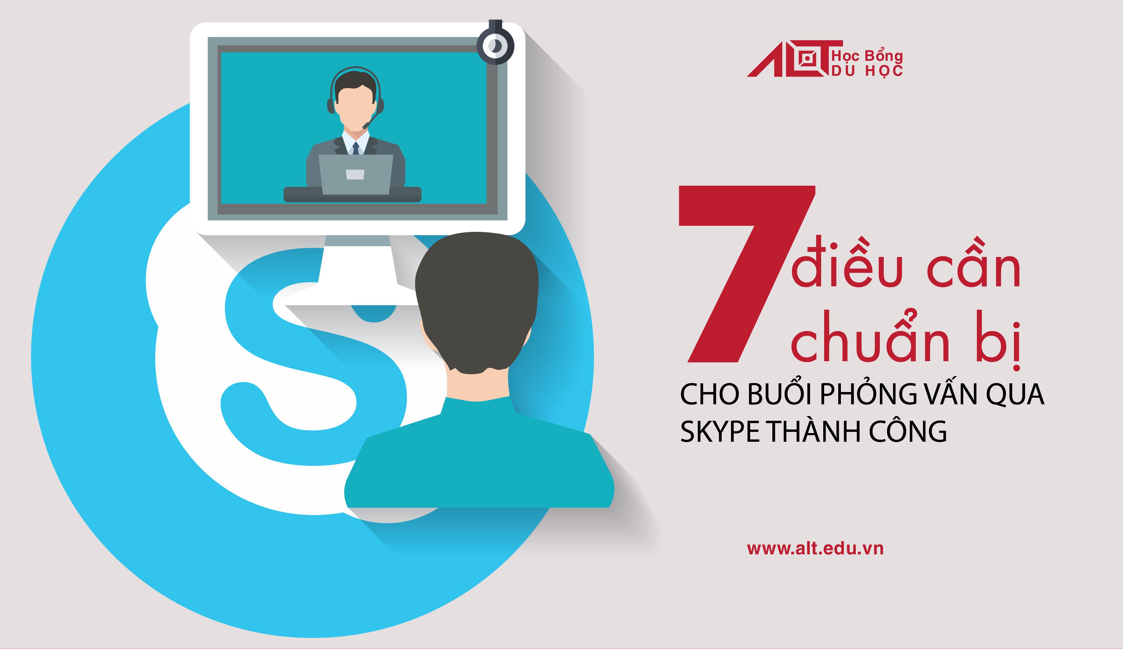 7 Bí Quyết Giúp Buổi Phỏng Vấn Qua Skype Của Bạn Thành Công