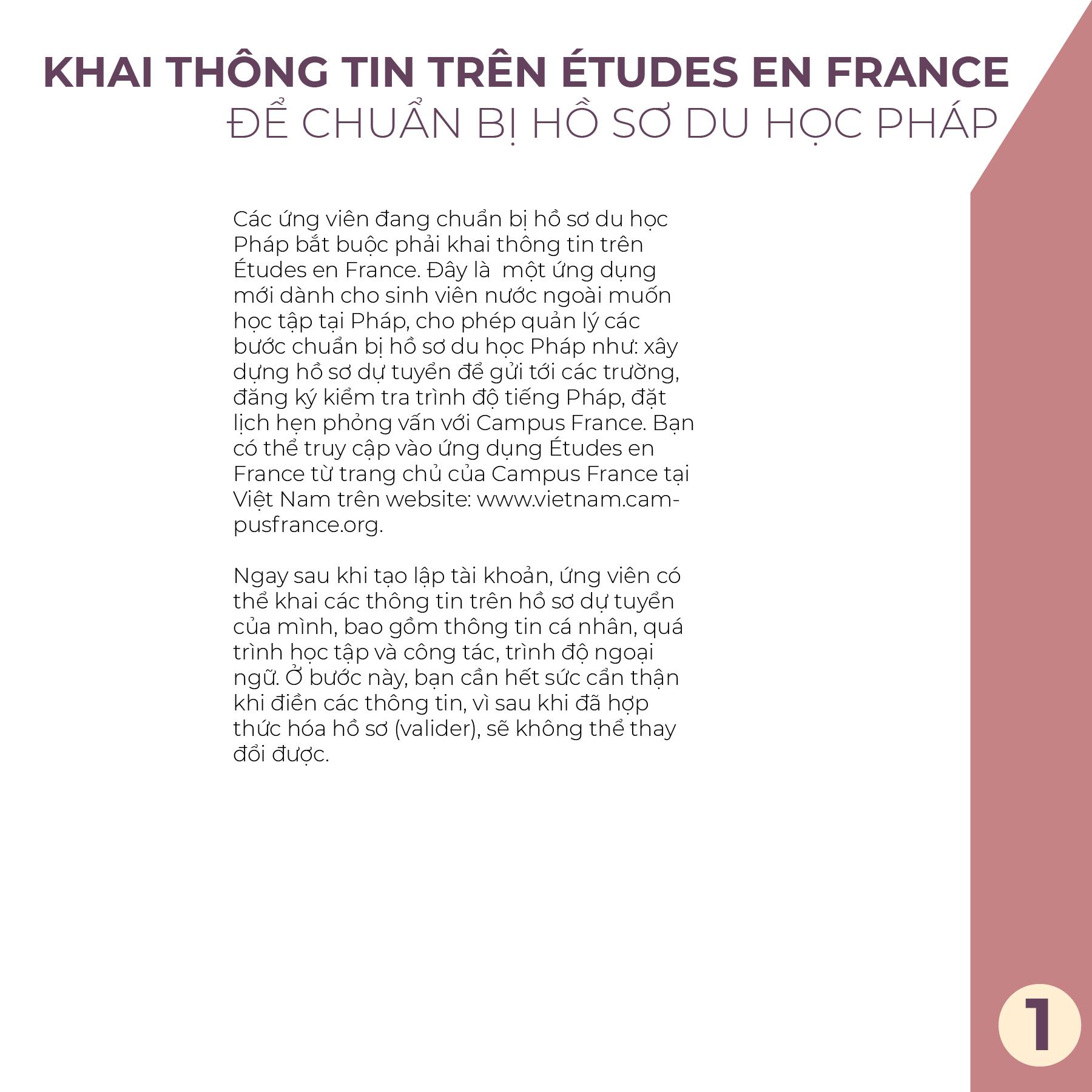 Hồ sơ du học Pháp