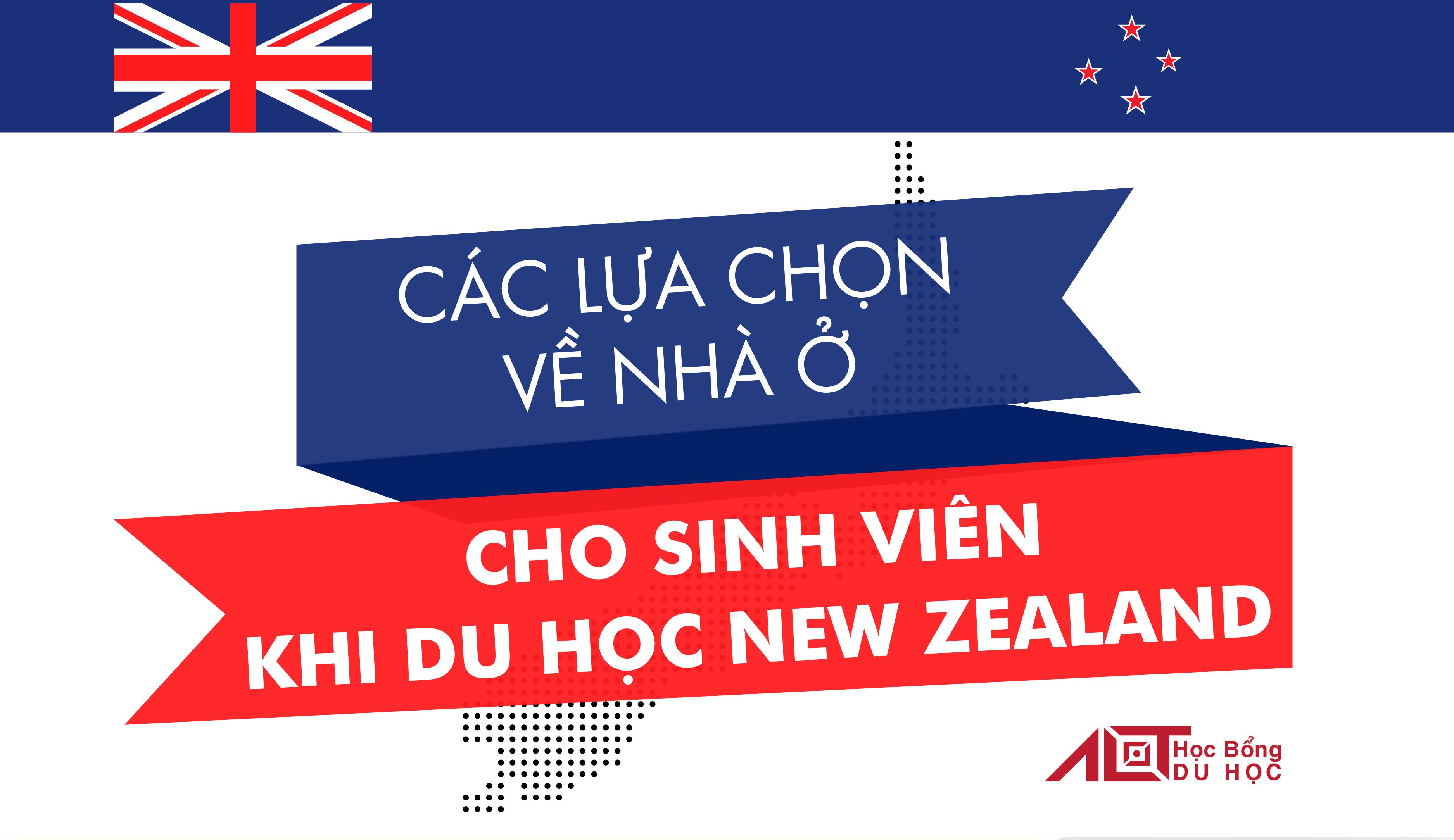 Đi Du Học New Zealand nên lựa chọn nhà ở như thế nào