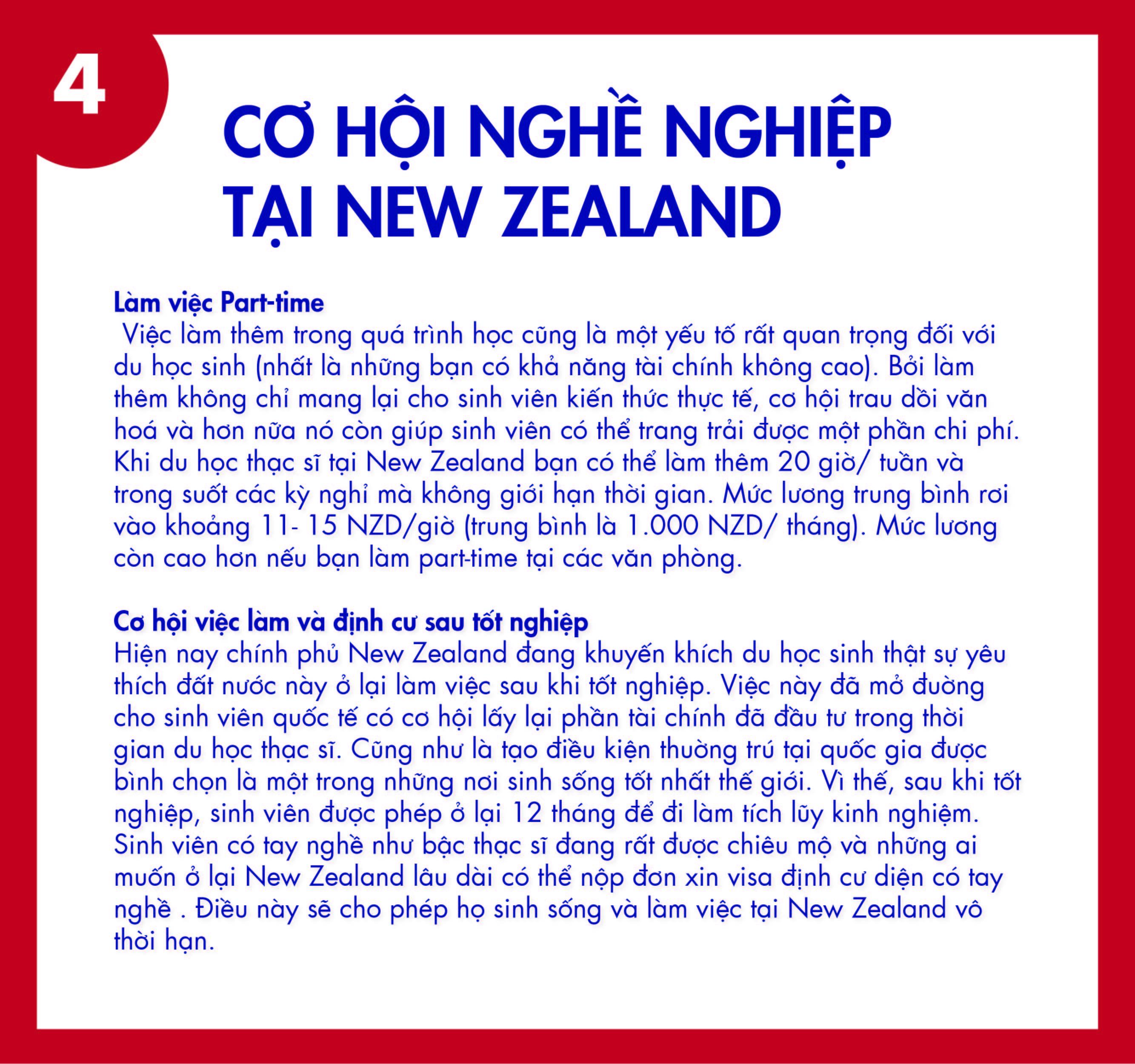 du học thạc sĩ tại New Zealand