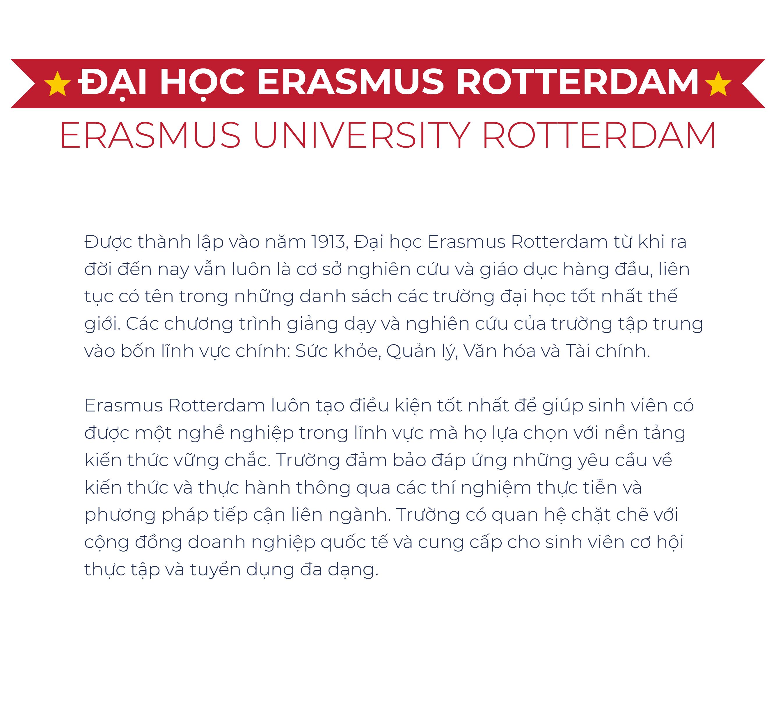 Du học Hà Lan Học Trường GÌ