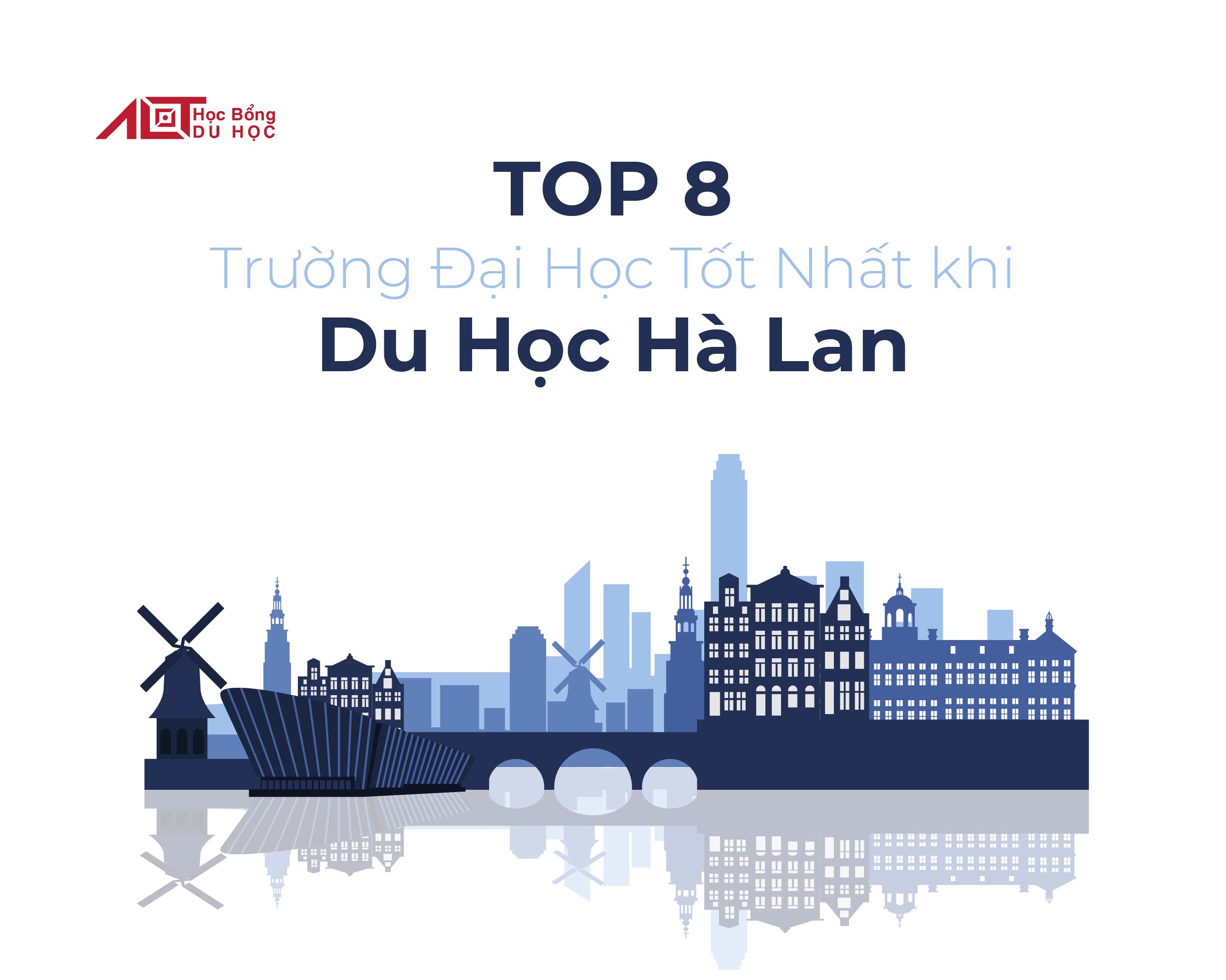 Top 8 trường đại học nên học khi đi du học Hà Lan