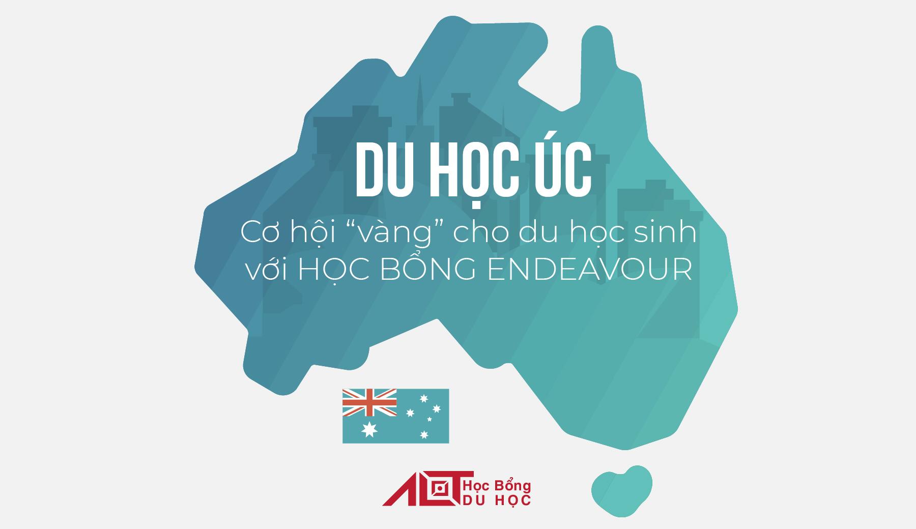 Học bổng Endeavour: Bảo bối chắp cánh ước mơ du học Úc