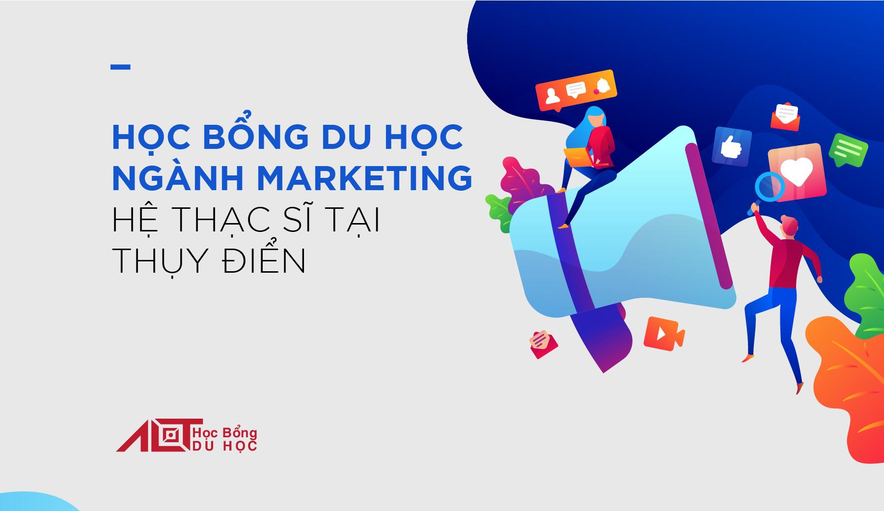 Học Bổng Du Học Ngành Marketing