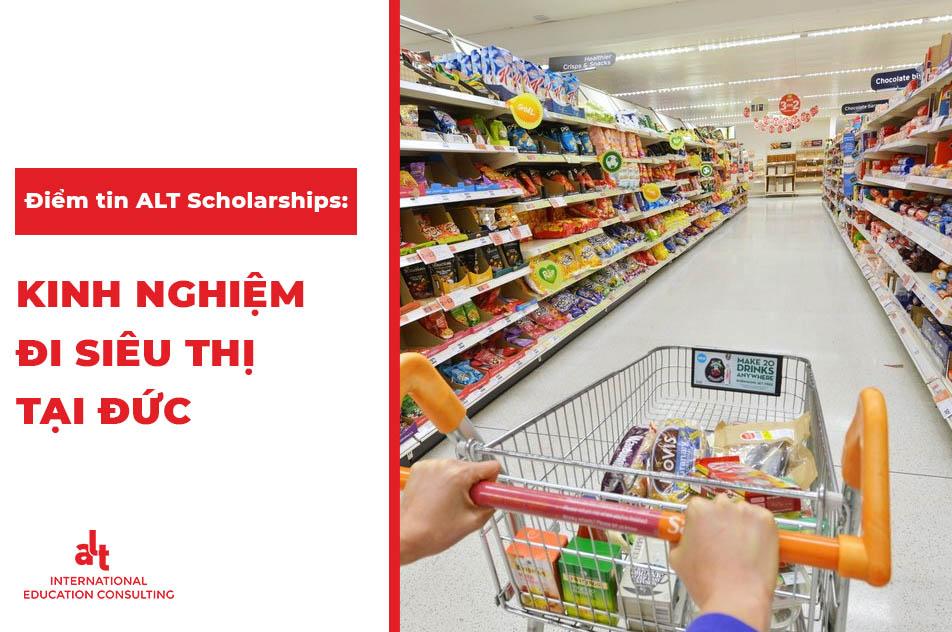 Mức sống và khí hậu ở Đức, kinh nghiệm đi siêu thị