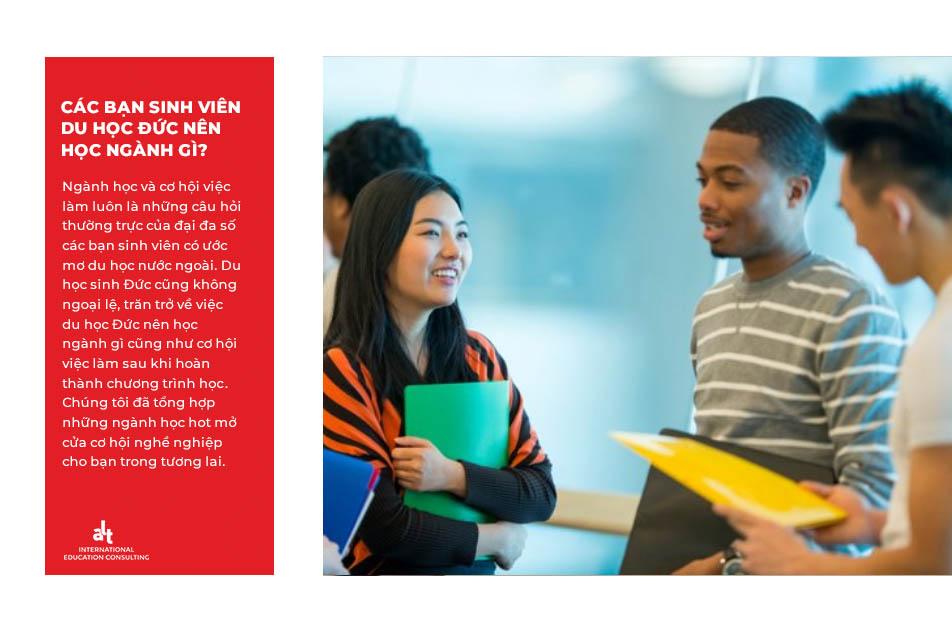 Du học đức và các bạn sinh viên nên học ngành gì