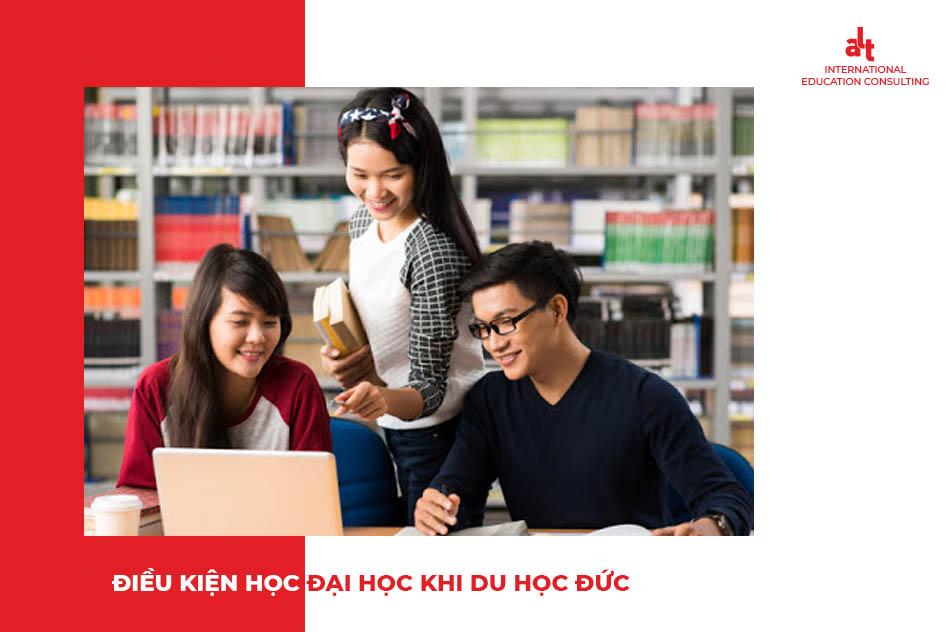 Điều kiện du học Đức cần bằng đại học hoặc không cần