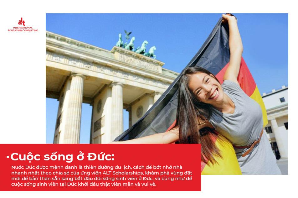 cuộc sống sinh viên tại Đức với những trải nghiệm mới