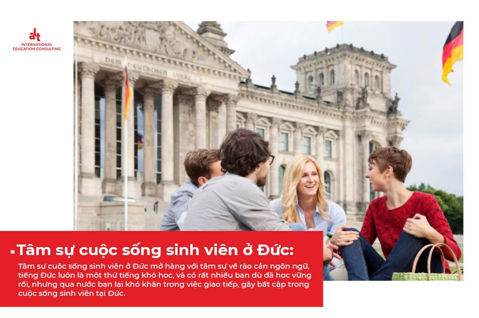 Tâm sự cuộc sống sinh viên tại Đức