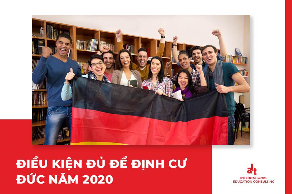 Điều kiện định cư tại Đức năm 2020