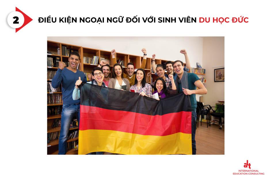 Điều kiện ngoại ngữ du học Đức đối với sinh viên