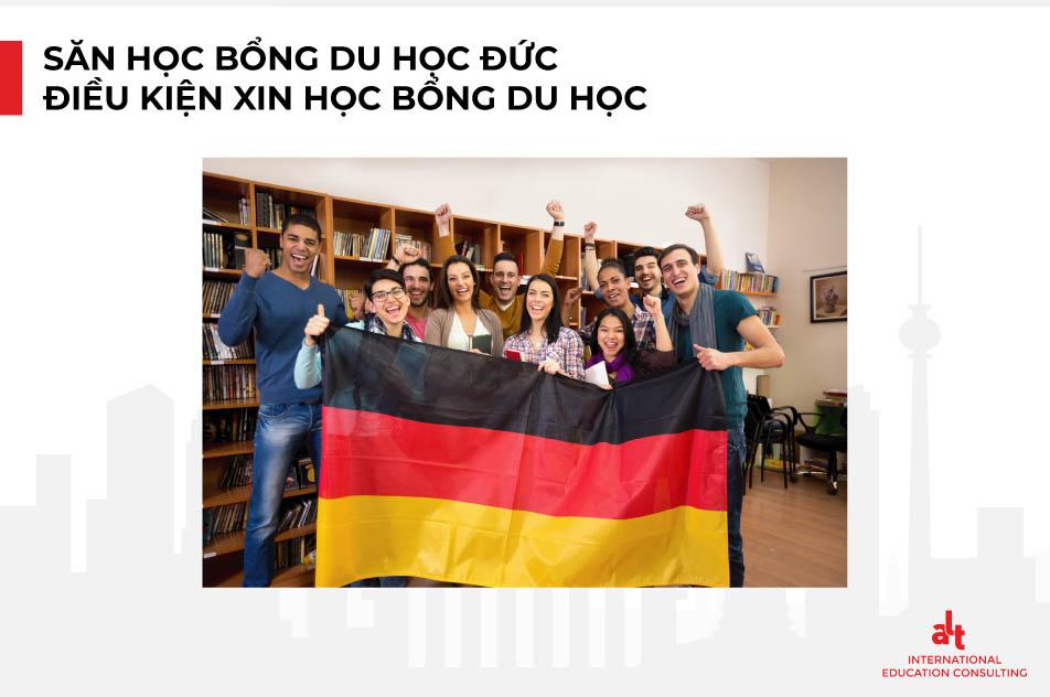 Săn học bổng du học Đức, điều kiện để xin học bổng