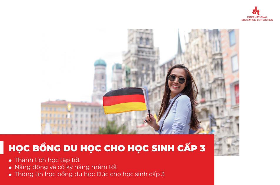 Học bổng du học Đức và học bổng cho học sinh cấp 3