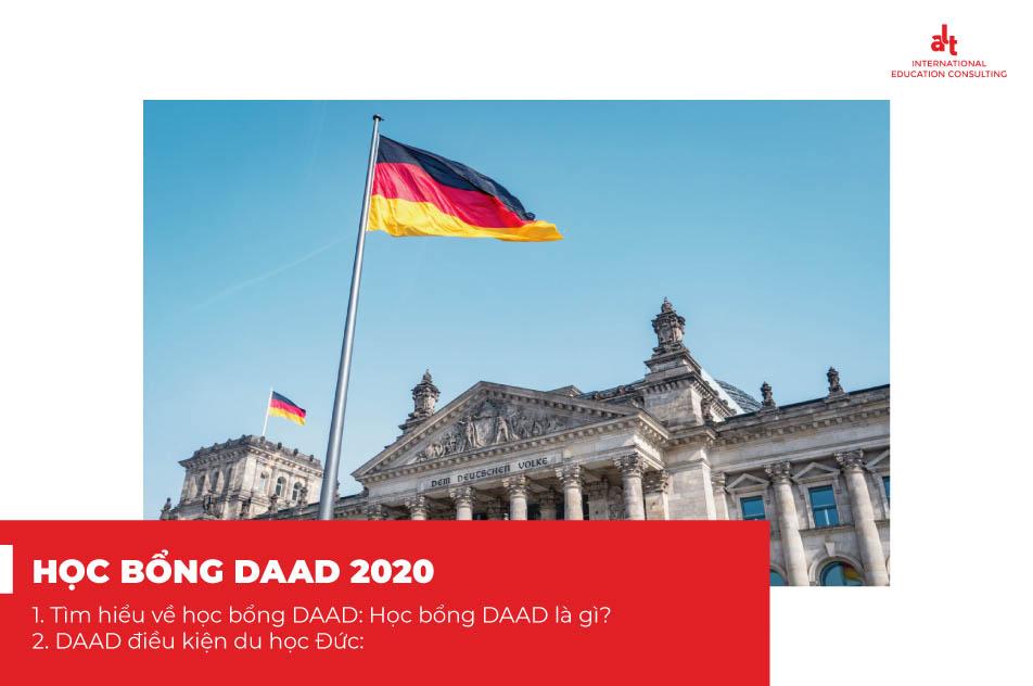 Học bổng du học Đức và những điều cần biết về Học Bổng DAAD 2020