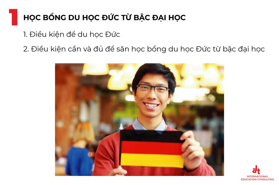 Học bổng du học Đức từ bậc đại học như thế nào?