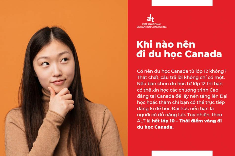 Chia sẻ của cựu ứng viên ALT Scholarships: Khi nào nên đi du học Canada