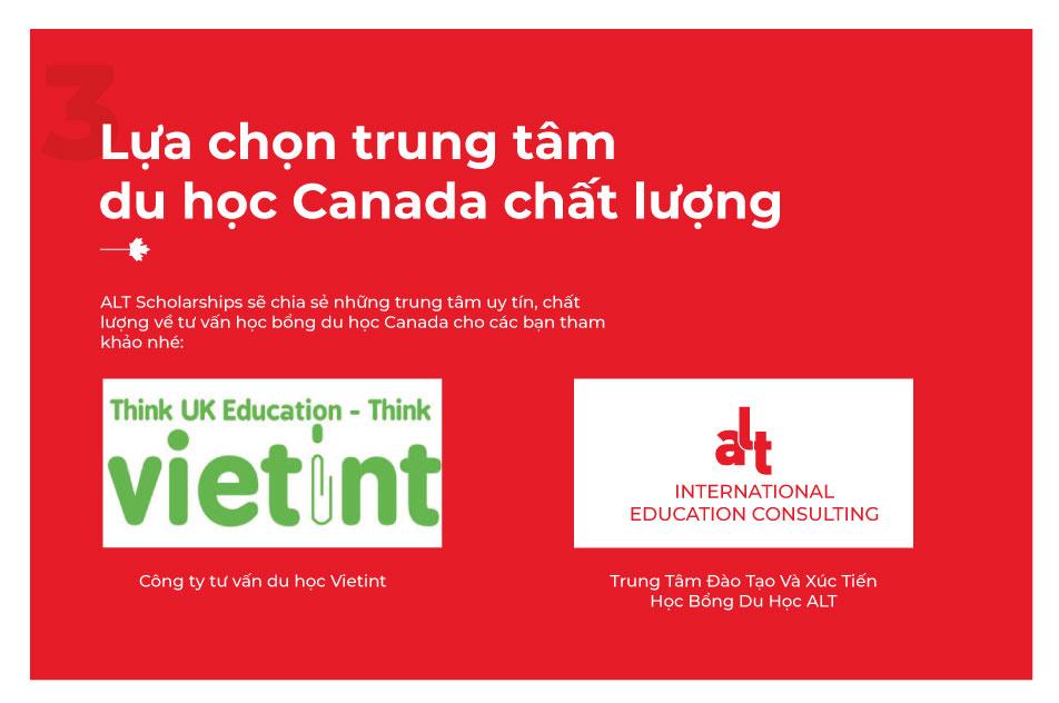 Mách bạn kinh nghiệm chọn trung tâm tư vấn du học Canada | ALT Scholarships