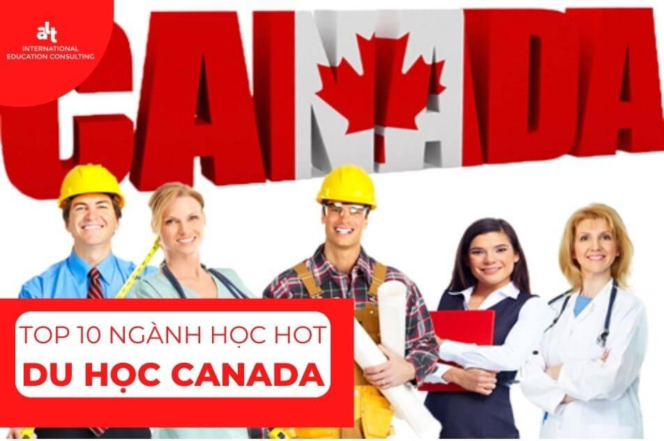 Du học Canada nên học ngành gì? – Top 10 ngành học hot ở Canada