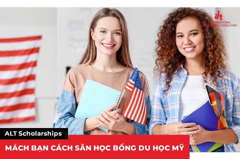 ALT Scholarships mách bạn cách săn học bổng du học Mỹ