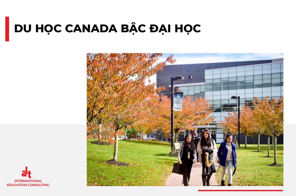 Du học Canada bậc đại học