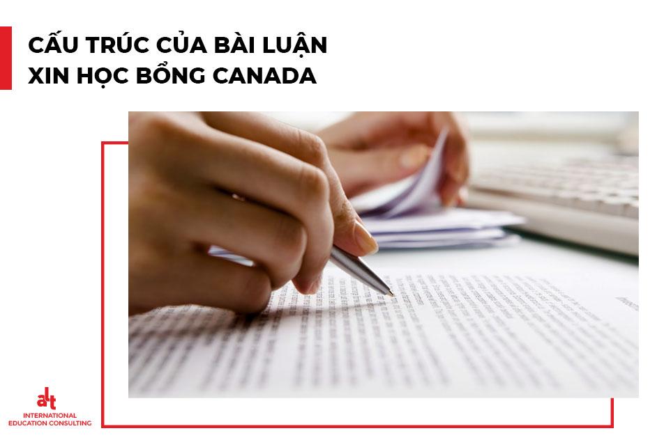 Viết bài luận xin học bổng