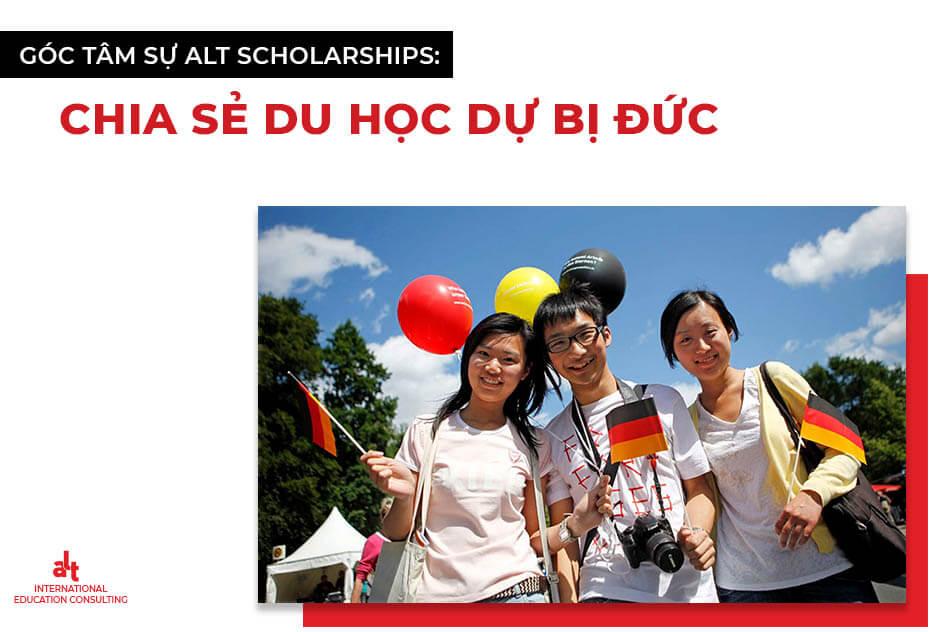 Góc tâm sự ALT Scholarships: Chia sẻ du học dự bị Đức